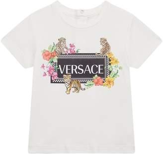Versace Baby Animals Logo T-Shirt