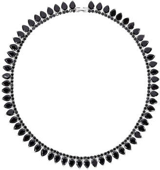 Fallon Monarch Pointed Choker Necklace, Red