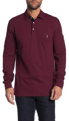 Tailorbyrd Long Sleeve Two-Tone Polo (Big & Tall)