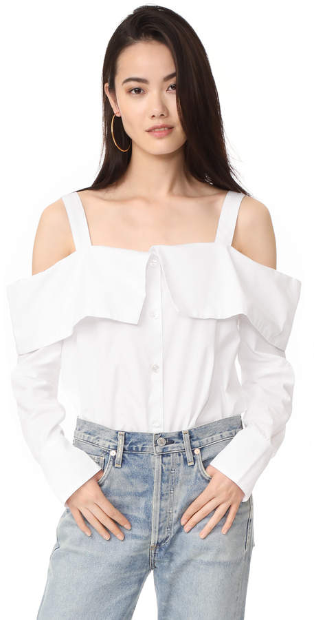 Clu Clu Off the Shoulder Shirt