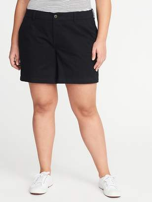 "Old Navy Mid-Rise Plus-Size Everyday Shorts (7"")"