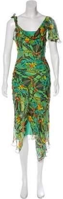 Diane von Furstenberg Silk Sleeveless Maxi Dress