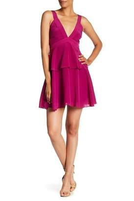 Zac Posen Elise Ruffle Overlay Dress