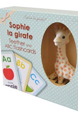 Calisson Inc Sophie Teether Flashcards