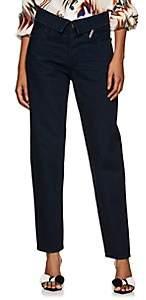 Atelier Jean Women's Flip Straight Jeans - Blue