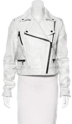 Proenza Schouler Distressed Leather Jacket