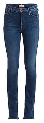 Mother Women's High-Waisted Runaway Flare Jeans