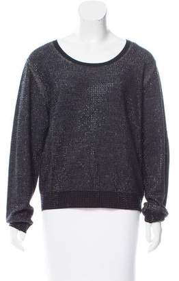 Sonia by Sonia Rykiel Embellished Wool Sweater w/ Tags