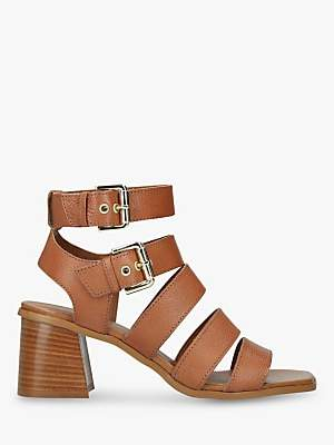 d07e2544600 at John Lewis and Partners · Carvela Astute Strappy Block Heel Sandals