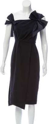 Dice Kayek Sleeveless Midi Dress