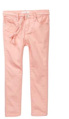 Jessica Simpson Super Skinny Embroidered Jeans (Little Girls)