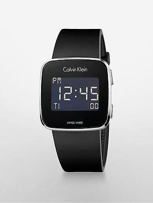 Calvin KleinCalvin Klein Womens Future Digital Watch Black