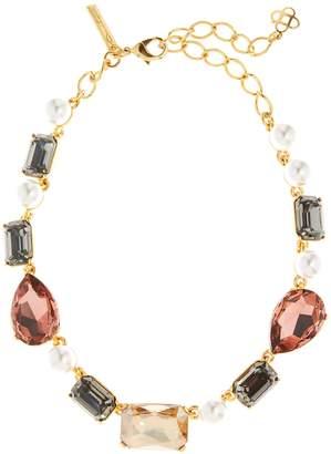 Oscar de la Renta Bold Crystal Necklace