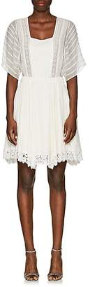 Nina Ricci WOMEN'S SILK PEASANT DRESS