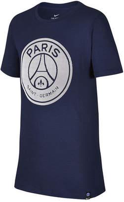 Nike Paris Saint-Germain Crest T-Shirt, Big Boys
