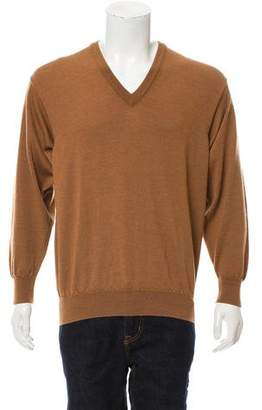 Pringle Knit V-Neck Sweater