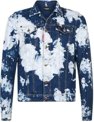 DSQUARED2 Acid Wash Denim Jacket