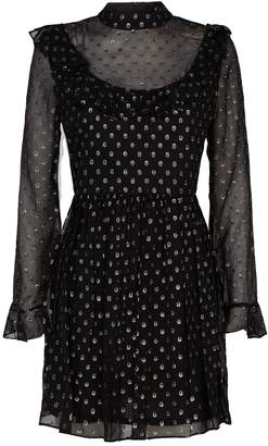 Robert Rodriguez Ruffled Polka Dot Dress