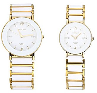 f48ab3f074 腕時計 クオーツ時計 精巧な目盛り円形文字盤 30M防水 金属材質 ペアウォッチ ビジネス