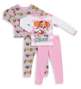AME Sleepwear Little Girl's Paw Patrol Pajama Set of Two