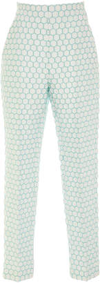 DELPOZO Cigarette Pleated Trousers