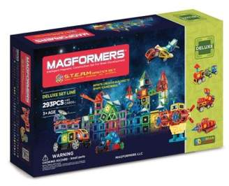 Magformers 'S.T.E.A.M. Deluxe' Magnetic Construction Set