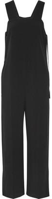 Helmut Lang - Crepe Jumpsuit - Black $645 thestylecure.com