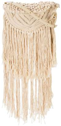 Stella McCartney fringed shoulder bag