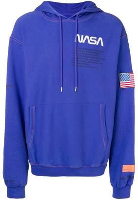 Heron Preston Nasa embroidered hoodie