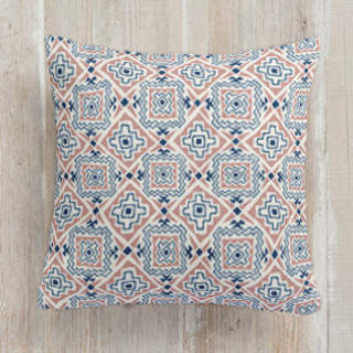 Southwestern Tile. Square Pillow
