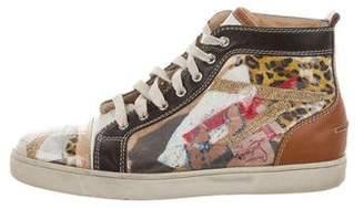 Christian Louboutin Louis Trash Sneakers