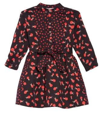 Stella McCartney Camille Ladybug Print Dress