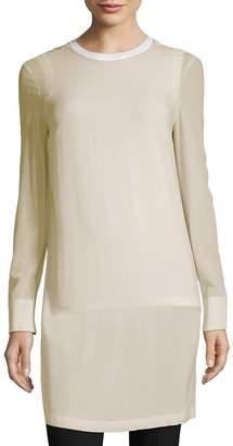 Brunello Cucinelli Women's Crewneck Long Shirt