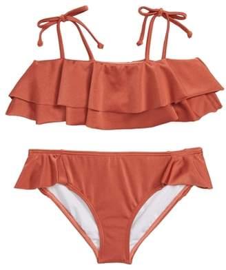 Billabong Shine Ruffle Two-Piece Swimsuit
