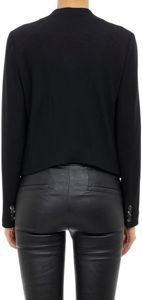 Helmut Lang Cropped Jacket-Black