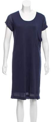 Chinti and Parker Short Sleeve Knee-Length Dress