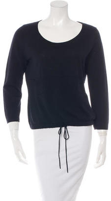 Vera Wang Three-Quarter Sleeve Knit Sweater $75 thestylecure.com