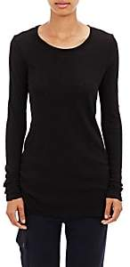 ATM Anthony Thomas Melillo Women's Slub Jersey Long-Sleeve T-Shirt - Black