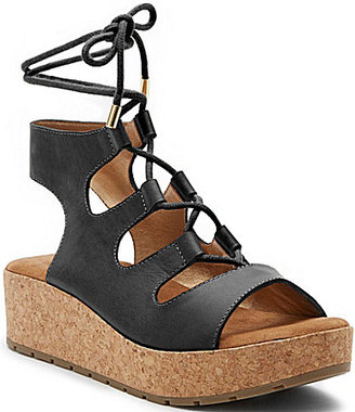 Kenneth Cole Reaction Calm Night Lace Up Sandals $89.99 thestylecure.com