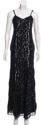 Needle & Thread Sequin Evening Dress