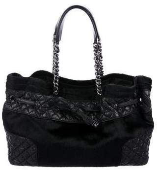 Chanel Ponyhair Grand Shopping Tote