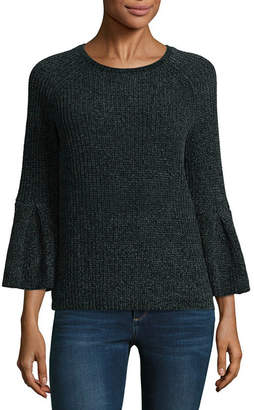 A.N.A 3/4 Sleeve Crew Neck Pullover Sweater