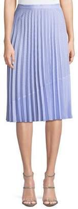 Saylor Serenity Shirting Stripe Skirt