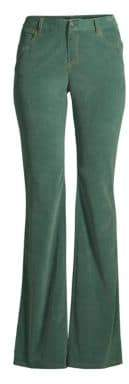 Lafayette 148 New York Women's Mercer Corduroy Pants - Ink - Size 18