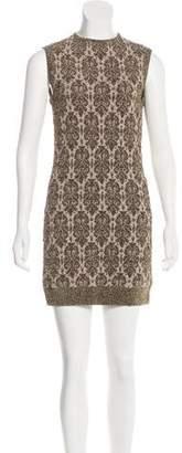 Lanvin Metallic Bodycon Dress