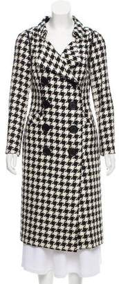 Charles Chang-Lima Structured Houndstooth Coat w/ Tags