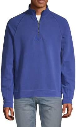Tommy Bahama Ben & Terry Coast Half-Zip Pullover