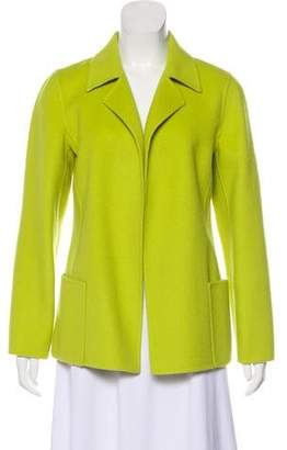 Ellen Tracy Linda Allard Wool Long Sleeve Blazer