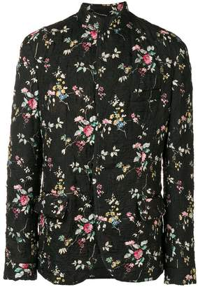 Haider Ackermann quilted floral jacket