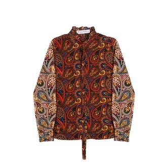J.W.Anderson Paisley Zip Through Shirt